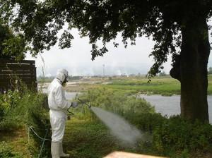 建物外周消毒