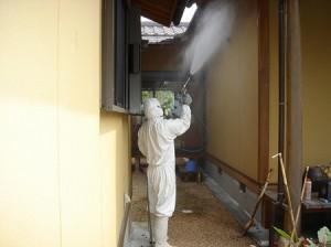 建物外壁消毒